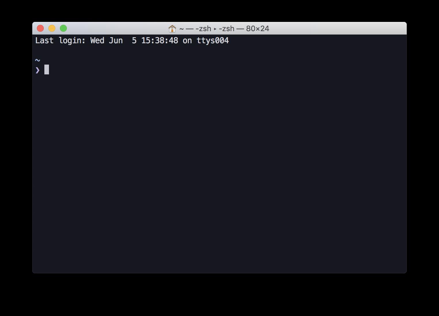 macOS 10.15ではbashからzshに変更になる。